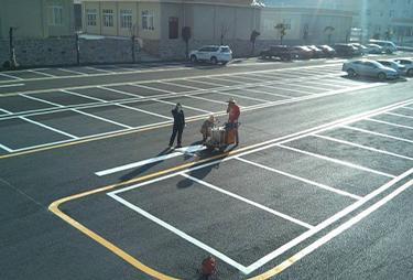车位划线,厂区划线,福州道路划线