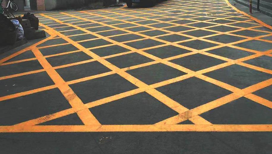 厂区停车位划线