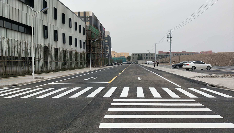停车场道路划线