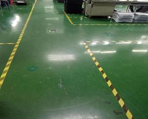 厂区地面划线