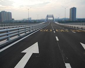 高速公路划线
