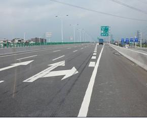 公路路面划线