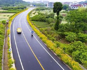 漳州道路划线