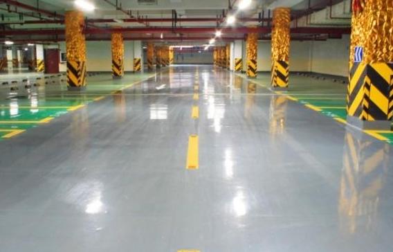 地下库停车位划线的固定流程